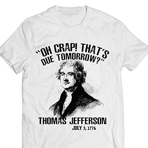 Amazon.com: Thomas-Jefferson Patriotic USA-History-Teacher Funny ... #funnyCoffeeShop