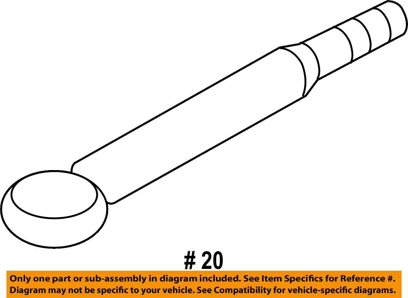 Subaru Oem 14 15 Forester Floor Rails Rear Tie Down Hook Axle Diagram Left 57805fg000 Automotive