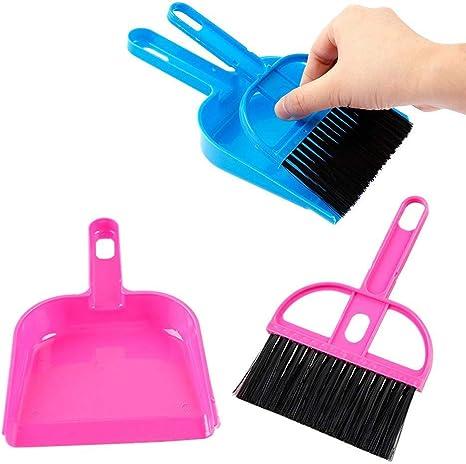 Mini Cleaning Broom and Dustpan Set Broom Desktop Sweep Cleaning