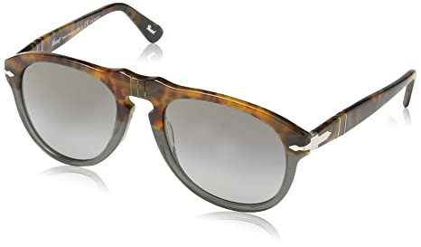 f9f9aae2f5a4f Persol Sunglasses 649 1023 M3 Fuoco e Ardesia with Grey Polarized ...
