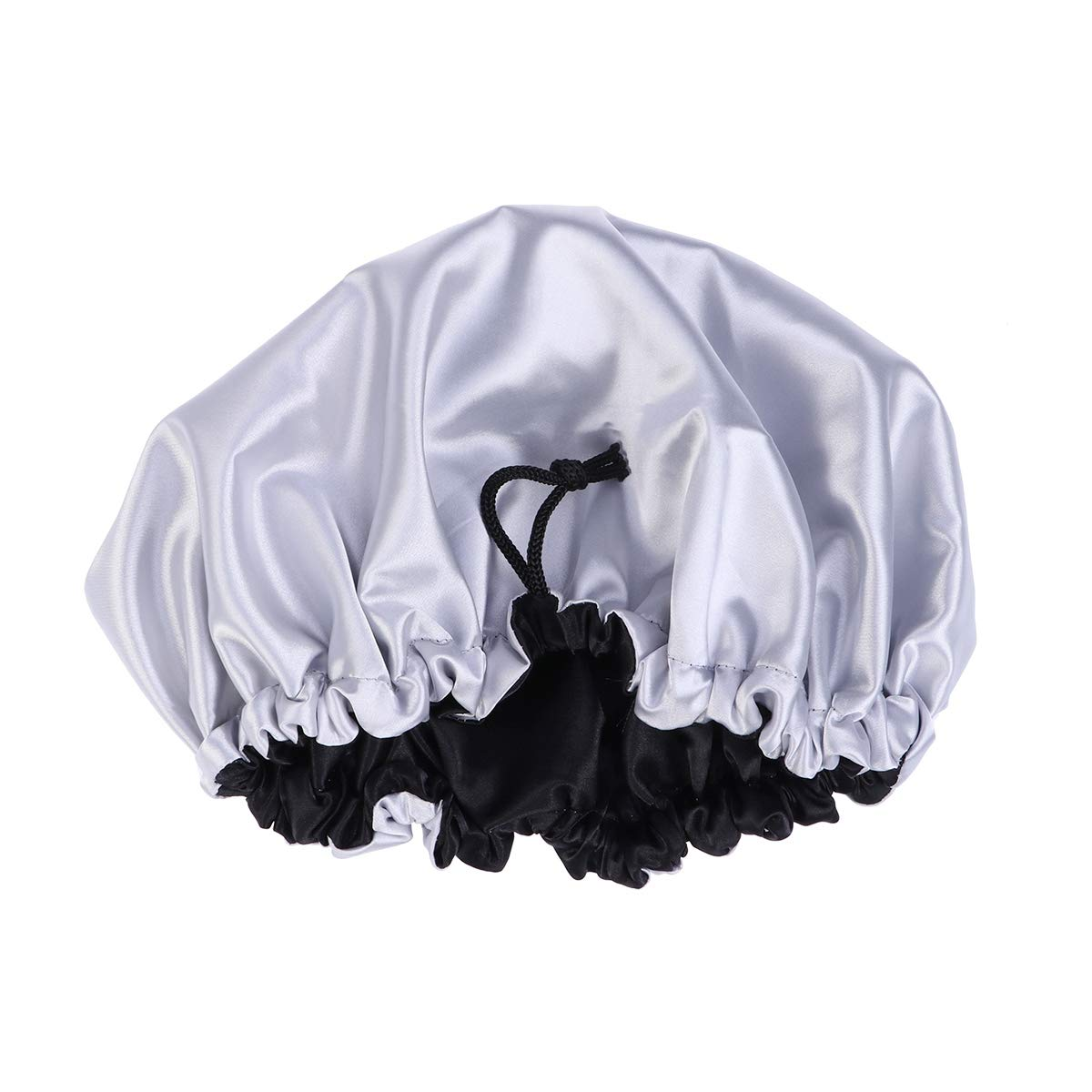 Healifty Fashion Chefs Hat Kitchen Professional Catering Various Skull Cap Turban Black