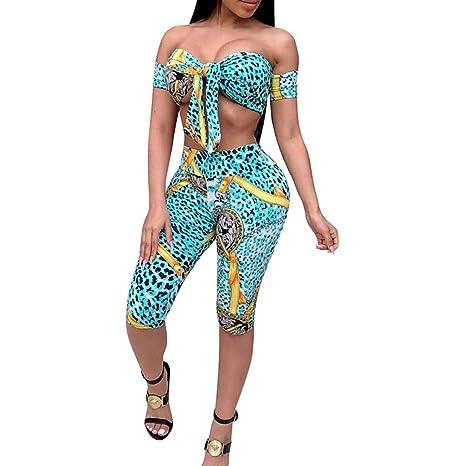 Amazon.com: Conjunto de dos piezas de ropa sexy para mujer ...