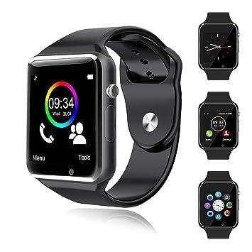 Smartwatch Bluetooth Reloj Inteligente Android con Ranura para ...
