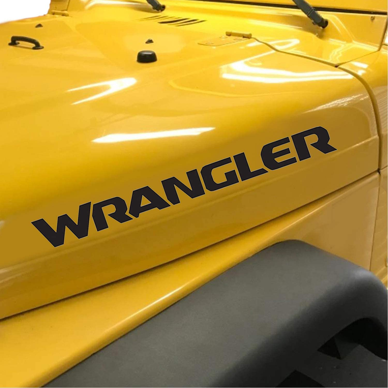 Wrangler Unlimited Vinyl Replacement Lettering Decals Jeep Wrangler Sahara JK TJ