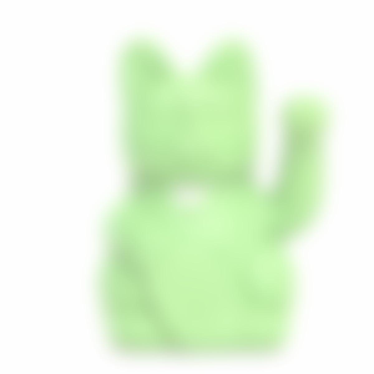 Lucky Cat Gl/ück f/ür ihre Kinder.12x9x18cm Der klassische Gl/ücksbringer in winkender Katzengestallt oder Maneki-Neko in fr/öhlichen Farben MOJITO GR/ÜN: Fruchtbarkeit
