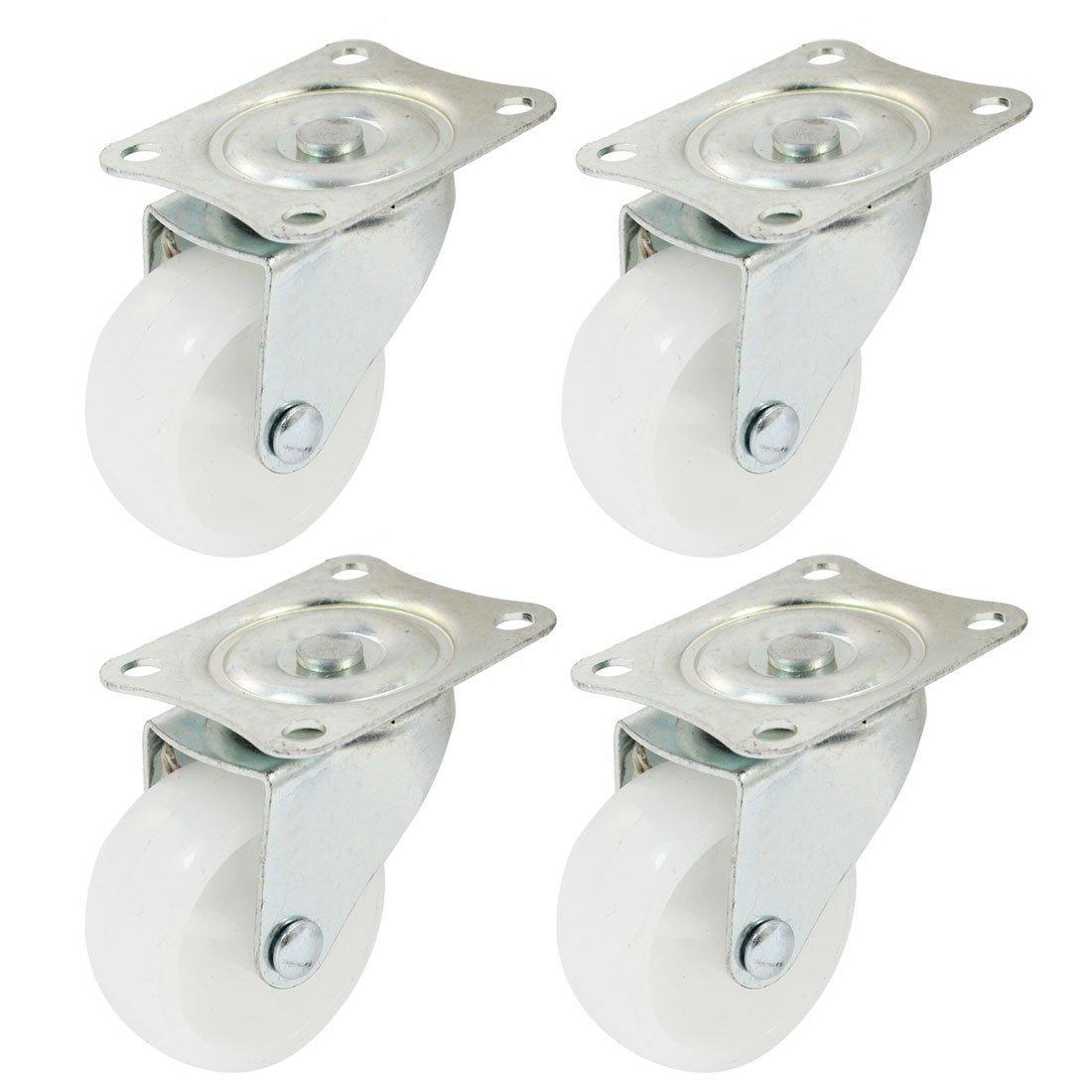 eDealMax a14072300ux0367 giratoria de la rueda de carrito de la compra Ronda 2 pulgadas de 360 ° de rotación giratoria DE 4 piezas: Amazon.com: Industrial & ...