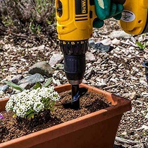 Plantation de jeunes plants de bulbes de literie Foret /à tari/ère 3.5 x 10 anti-d/érapant plante de jardin ampoule de fleur peu de foret en spirale foret de forage pour foret /à six pans creux