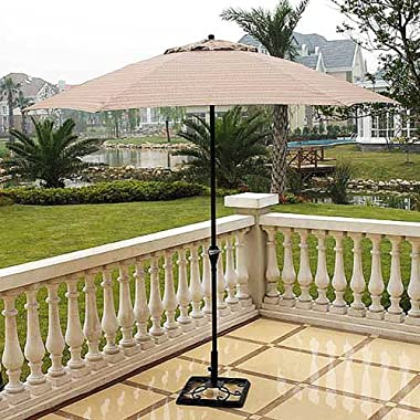 Hometrends Braddock Heights Brown Patio Umbrella 9'