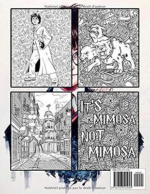 Harry Potter Le Livre De Coloriages French Edition Clavette Perrin 9781707511945 Amazon Com Au Books