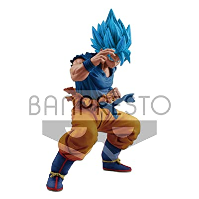 Banpresto 35707 DBS Masterlise Super Saiyan God S.Son Goku (Blue Hair) Figure: Toys & Games