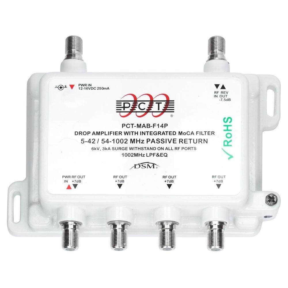Tivo Moca Filter Wiring Diagram Intl Mab Port Catv Drop Amplifier With Passive Return Works Verizon Fios Electronics