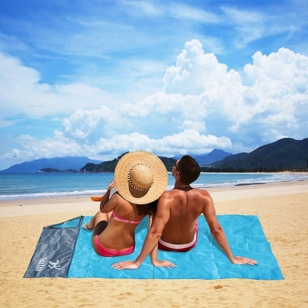 Amazon.com: Manta de playa para picnic al aire libre, ligera ...