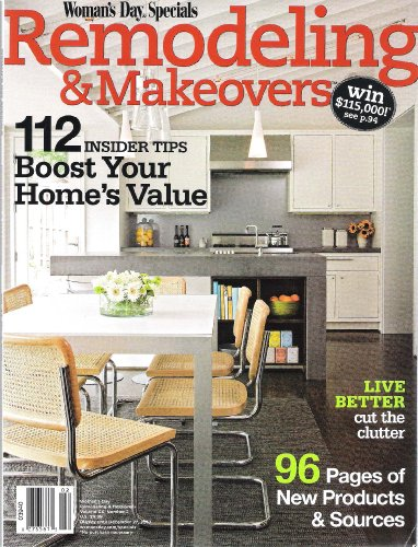 Remodeling & Makeovers (Woman's Day Specials, XX) (Homes Gardens And Lights Solar Better)