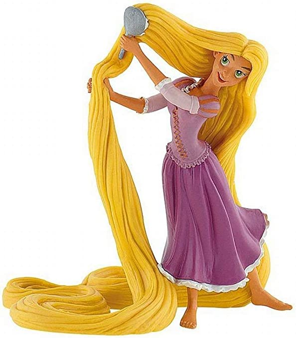 Amazon Com Disney Rapunzel Brushing Hair Birthday Party Cake Toppers Toys Games