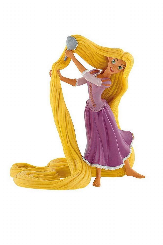 Disney Rapunzel Brushing Hair Birthday Party Cake Toppers by Disney