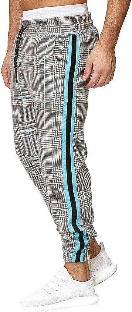 Né Riche Homme Pantalon De Jogging Kaki Survêtement Fashion Survêtement Pantalon Taille S-XXL