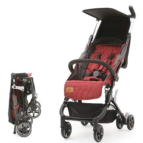 QZX Sillón Ligero Sistema de Viaje Plegable y Compacto para cochecitos de bebé Asiento y Respaldo