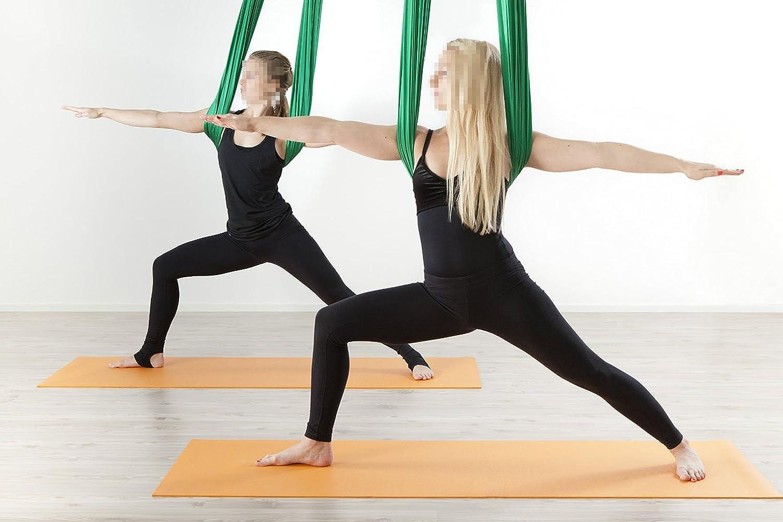 Klettergurt Für Yoga : Yoga diy silk pilates aerial silks equipment tuch