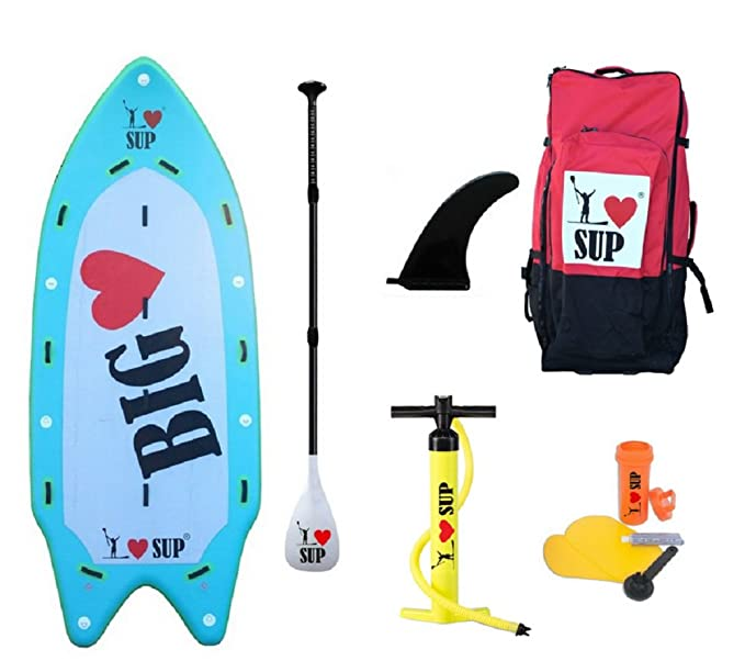 Big Love 15 x 70x 8 - Stand Up Paddle Hinchable I Love Sup: Amazon.es: Deportes y aire libre