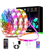 LED Light Strip, L8star Color Changing RGB Rope Lights 5050 Light Strips Sync with Music Remote Control Apply for TV, Bedroom, Party and Home Decoration