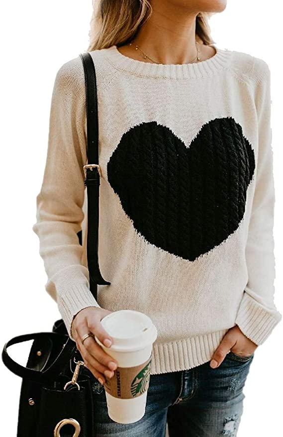 ladies cable knit sweater pattern,valentines day pullover pattern,cable heart sweater pattern,hand knit cable sweater pattern