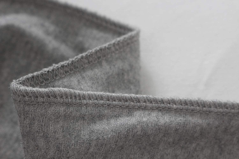 JINSHI Mens Sleepwear Pajama Pants Lounging Solid Black//Gray