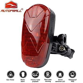 G105 oculta mini bicicleta Shock geo-valla Rastreador de GPS ...