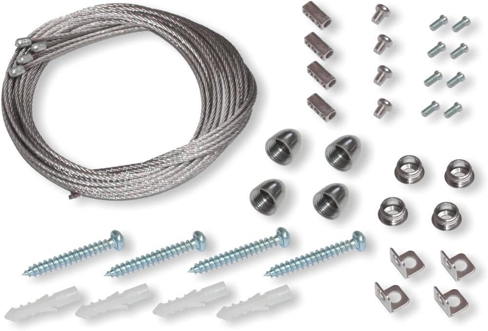 Y-Seilabhängung RHYV2 3er Set für Panelrahmen 110 cm Seilaufhängung Abhängeset
