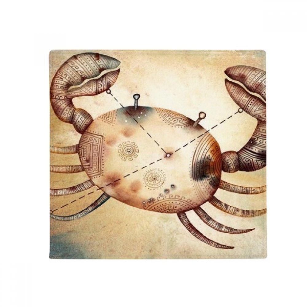 DIYthinker June July Cancer Constellation Zodiac Anti-Slip Floor Pet Mat Square Home Kitchen Door 80Cm Gift