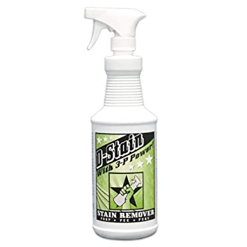 D-Stain Carpet and Upholstery Stain and Odor Remover and Cleaner with 3-P