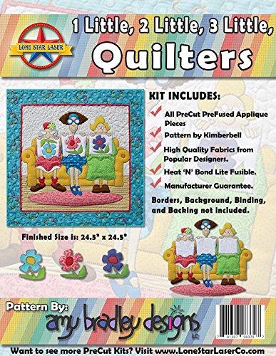 1, 2, 3 Little Quilters - Laser Cut Kit