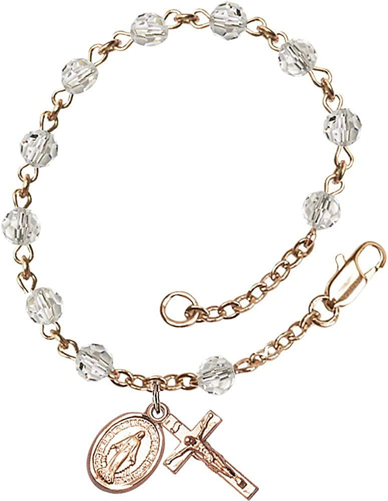 Bonyak Jewelry GP RI State Pendant with Chain in 14k Yellow Gold Plated Sterling Silver