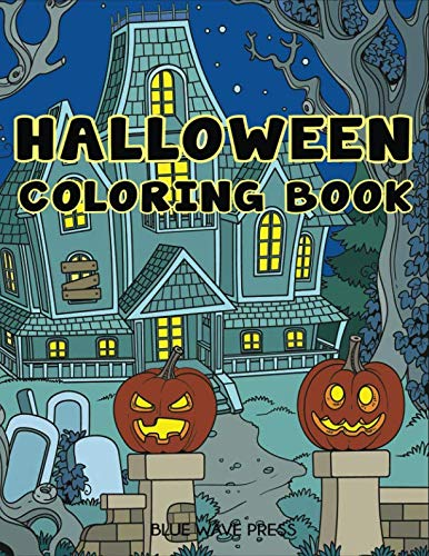 Halloween Coloring Book: Halloween Designs Adult Coloring Book (Adult Coloring Books)