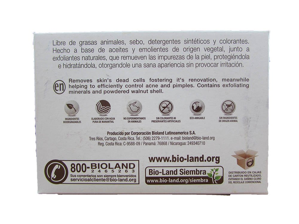 Amazon.com : Virgin Scrub Soap Acne Control, Pimples and Blackheads./ Jabòn Exfoliante Cascara De Nuez 125g : Beauty