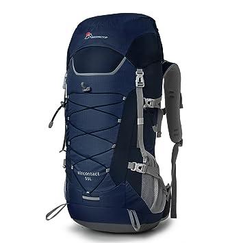 Mardin GTop 55L Trekking Mochila Viaje Mochila para hombre y mujer para camping senderismo viajes, 70 x 29 x 22 cm, azul marino: Amazon.es: Deportes y aire ...