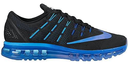 758539f168 Nike Men's AIR MAX 2016 Black Running Shoes-12 UK/India(47.5EU ...