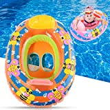 Wincom Dishman Water Sports Inflatable Baby Swimming Ring Pool Beach Swimming Float for Children Swim Tools