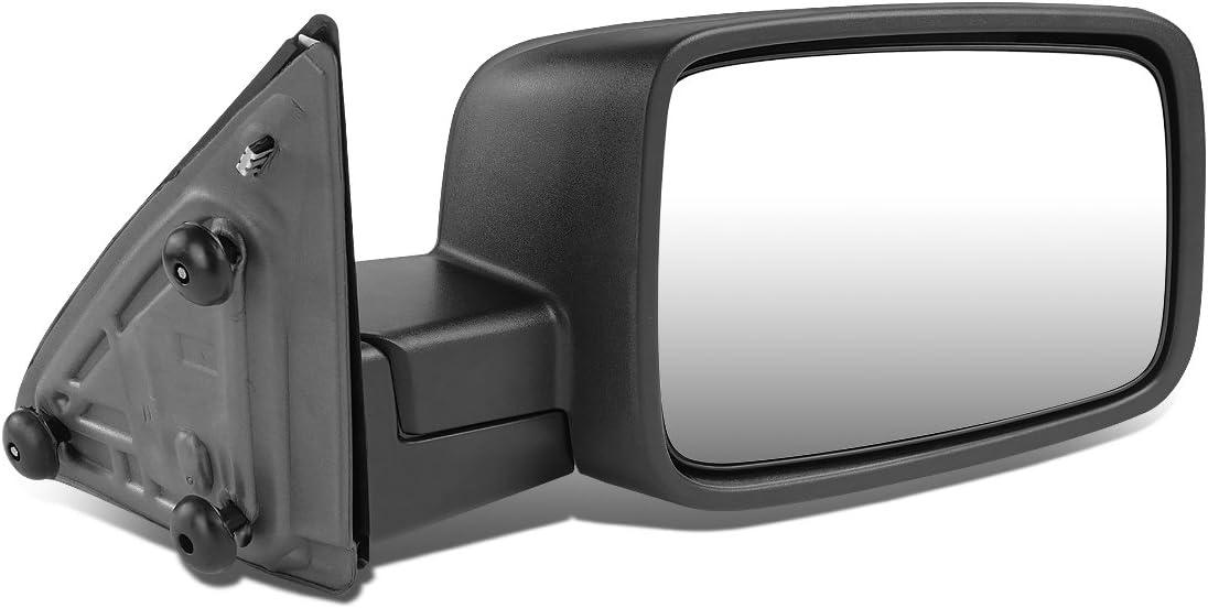 Exterior Accessories Left Driver Side Black Manual Adjustment ...
