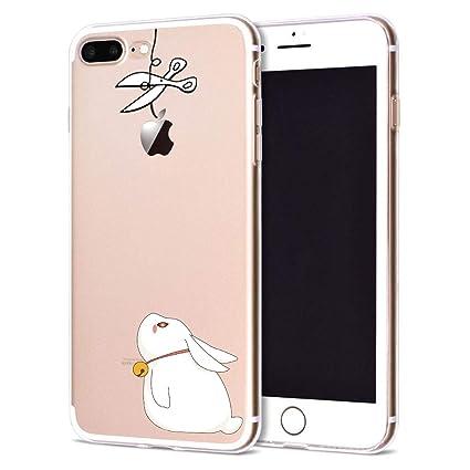 Amazon.com: Funda para iPhone 7 Caso 6 S 8 Plus Silicona ...