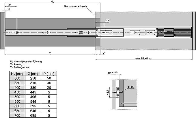 Kesheng M8 Ecrou De Serrage en Plastique Noir Poign/ée en Plastique pour T-Slot T-Track Accessoire