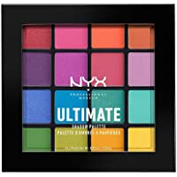NYX Professional Makeup Ultimate Eye Shadow Palette, Brights