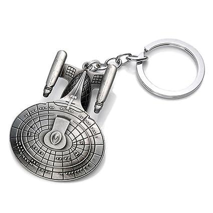 Amazon.com: star trek USS Enterprise NCC-1701-D llavero ...