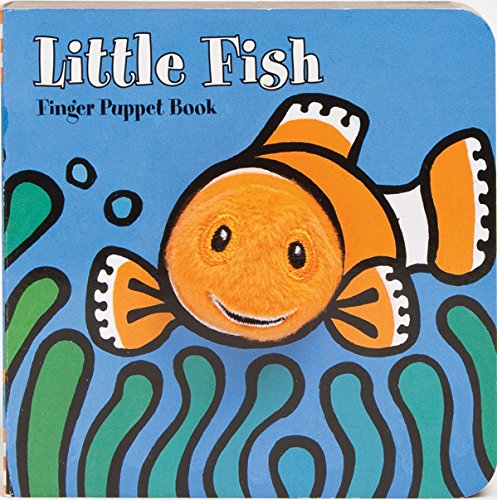 Little Fish: Finger Puppet Book (Little Finger Puppet Board Books) (Fish For Kids)