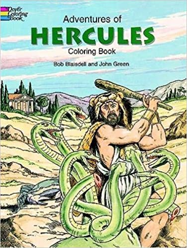 Download Adventures Of Hercules Coloring Book By Bob Blaisdell John Green PDF