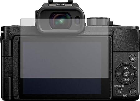 Protector de pantalla para Panasonic Lumix DC-G100 2 unidades, 9H Dipos I transparente