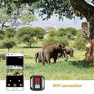 Campark Upgraded WiFi Bluetoot...