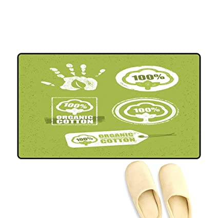 Amazon Com Doormatorganic Cotton Creative Concept On Grunge