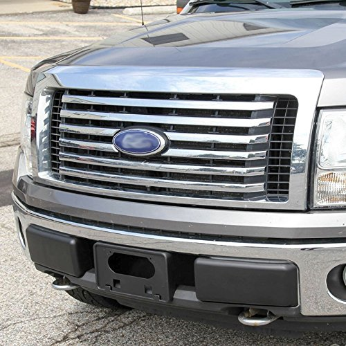 Front Bumper Pads Guards Fit for Ford F-150 F150 2009-2014 Insert Caps 1 Pair RH /& LH Both Right and Left Black 2010 2011 2012 2013