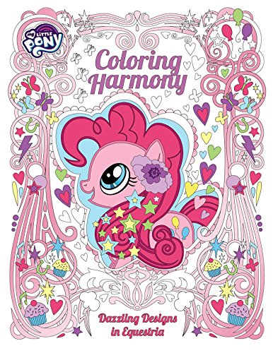 My Little Pony: Coloring Harmony: Dazzling Designs in Equestria (My Coloring Pony Pages Christmas Little)
