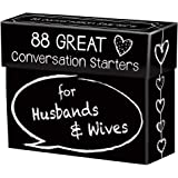 88 Great Conversation Starters for Husbands and Wives – Romantic Card Game for Married Couples – Christian Games…